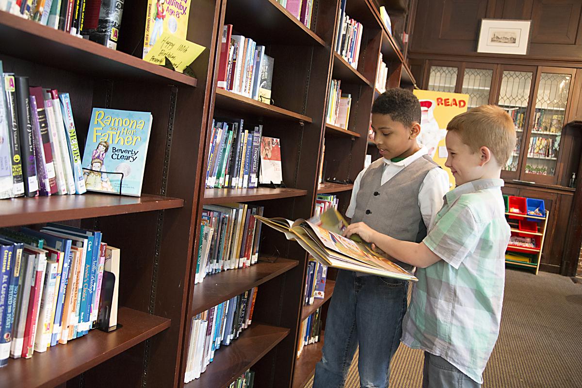 Library - Baltimore Lab School